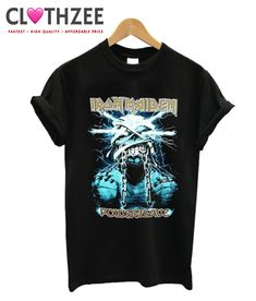 Iron Maiden Powerslave T Shirt from clothzee.com This t-shirt is Made To Order, one by one printed so we can control the quality.
