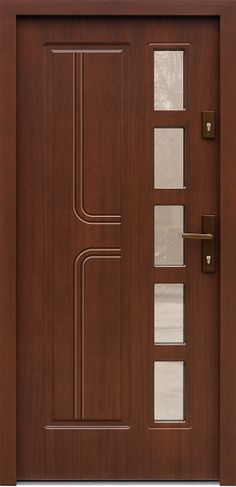 Benefits that you could derive by using the interior wood doors for your home or office. Wooden Glass Door, Wooden Front Door Design, Wood Front Doors, Glass Doors, Garage Doors, Bedroom Door Design, Door Gate Design, Door Design Interior, Frosted Glass Interior Doors