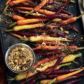 Roast Baby Carrots with Pistachio & Walnut Dukkah - Coles Recipes & Cooking