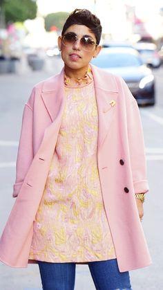 DIY Dress and Zara Coat...details on the blog