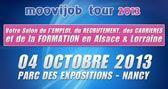 Moovijob Tour - Nancy - C'est aujourd'hui ! Les recruteurs & organismes de formation vous accueillent de 9h30 à 17h : Entrée libre