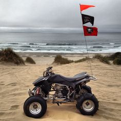 Oregon sand lave atv