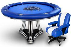 Falcon Modern Series Round Poker Table