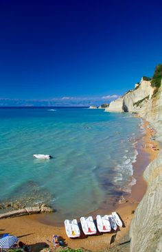 Corfu Greece Beach - Bing Images. Book your Corfu holidays at corfu2travel.com !