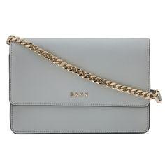 DKNY Bryant Park Mini Leather Crossbody Bag, Marble