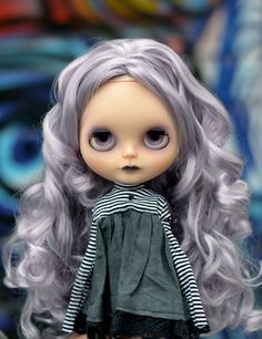 Daminia a OOAK custom Blythe doll by RachelKCustomDolls on Etsy