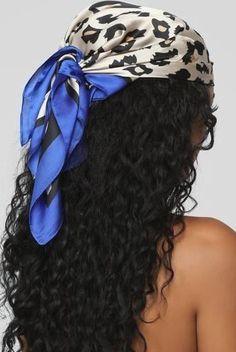 Bandana Hairstyles, Baddie Hairstyles, Black Girls Hairstyles, Braided Hairstyles, Natural Curly Hairstyles, Little Girls Natural Hairstyles, Hairstyle Ideas, Hair Wrap Scarf, Hair Scarf Styles
