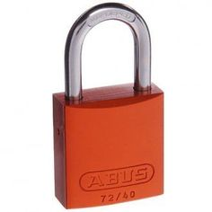 Abus 72/40 Aluminium Bodied Padlocks.  Bicycle Padlock Bike Lock Abus German Quality Great bike locks! Constructed from lightweight anodised aluminium. Anodised aluminium body provides high strength with light weight. High visibility Full range available from: http://stores.shop.ebay.com.au/locks-keys-and-more
