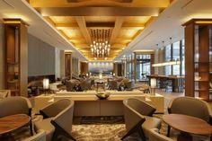 "JW Marriott Hotel Nara, Japan - dpa lighting consultants - ""Right Light, Right Place, Right Time"" ™ #dpalighting #lightingdesign #hotellighting #barlighting #tablelamps #pendant #chandelier #uplighting #warmlight #fireplace #artworklighting #downlights #nichelighting"