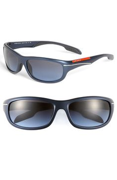 Prada 'Sport Wrap' Sunglasses available at #Nordstrom