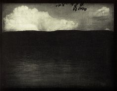 Edward Steichen, The Big White Cloud, 1906