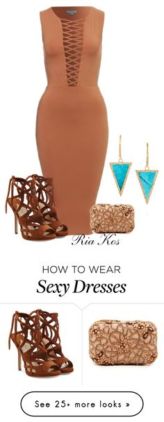"""""""sexy"""" by ria-kos on Polyvore featuring Paul Andrew, Jennifer Meyer Jewelry and Alice + Olivia"""