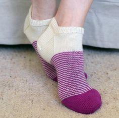 Ravelry: Vertigo Socks pattern by Jo-Anne Klim Knitting Stiches, Loom Knitting, Knitting Socks, Baby Knitting, Knitting Patterns, Knit Stitches, Knitting Machine, Vintage Knitting, Knit Socks