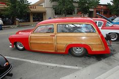 Pro Street 49 Ford Woody