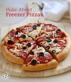 There are some nights where getting dinner on the table is a real challenge. You're busy, you're tired, and sometimes, you just can't make the effort. Instead of settling for a mediocre store-bought pizza on those busy nights, wouldn't it be better if you had a homemade option in your freezer all ready to go? Making your own frozen pizzas isn't that difficult, and that moment when you pull a homemade pizza from the oven will make your advance planning well worth it.
