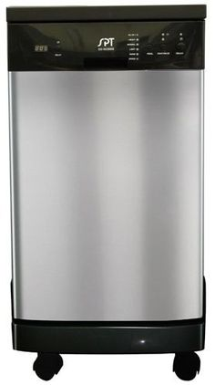 1000 ideas about portable dishwasher on pinterest - Portable dishwasher stainless steel exterior ...
