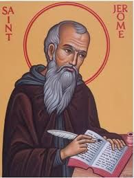Feast of St. Jerome; Christian Religious Observance; September 30; Dalmatian scholar and desert ascetic in Palestine. Especially noted for his monumental Vulgate translation of the Bible into Latin. Patron saint of librarians and scholars of Scripture.