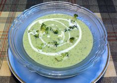 Yummy Broccoli Soup with mild spice. Very helathy try this today