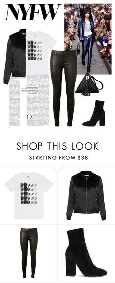 """""""Untitled #569"""" by phangirll ❤ liked on Polyvore featuring Andy Warhol, Glamorous, AG Adriano Goldschmied and Valentino"""