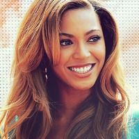 Love how Beyonce handles her bangs!