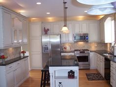 before and after kitchen remodels | dream kitchen without the island not sure my kitchen is large enough ...