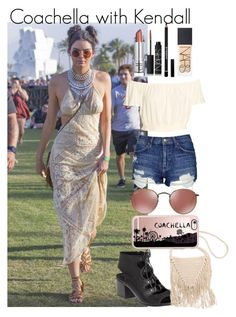 """""""Coachella with Kendall"""" by almog-fashion ❤ liked on Polyvore featuring Topshop, 275 Central, Billabong, Casetify, NARS Cosmetics and Givenchy"""