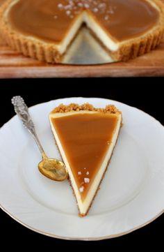 Wicked sweet kitchen: Salted caramel cheesecake pie