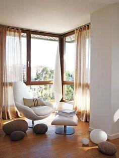 via Mi Casa. That chair. Mood.