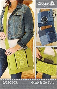 Grab & Go Tote Sewing Pattern