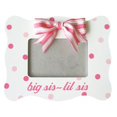 Hand painted Picture Frame  www.sassysorority.com