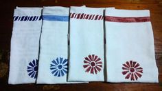 My DIY tea towels