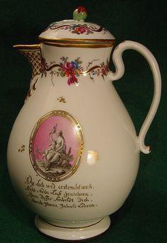 coffee pot royal vienna superb  porcelain pot ...