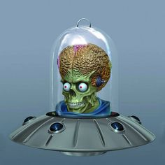 Mars Attacks Ship Ornament Mars Attacks Ship Ornament is an Urban Collector pre-order. A Gentle Giant Release! Nothing quite says 'Happy Holidays' like an alien invasion! To celebrate the anniversary of the original Mars Attacks trading cards from Xmas Tree, Christmas Tree Ornaments, Christmas Decorations, Halloween Decorations, My Favorite Part, Favorite Holiday, Tim Burton Style, Mars Attacks, Dark Christmas