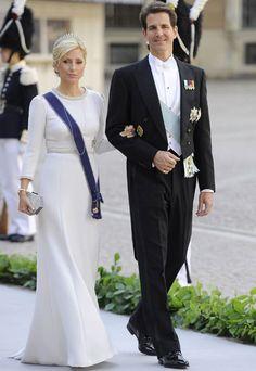 Prince Pavlos and Princess Marie Chantal of Greece.