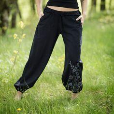 Thao - Kalhoty Komfort - černé