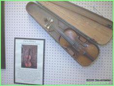 Pa Ingalls' fiddle