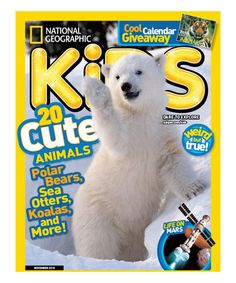 This National Geographic Kids Magazine Subscription is perfect! #zulilyfinds