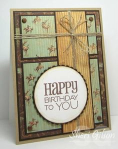 Birthday to You, DS69 by PaperCrafty - Cards and Paper Crafts at Splitcoaststampers