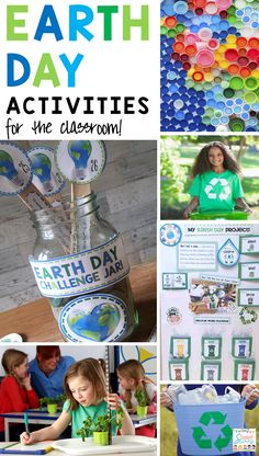 Earth Day Activities for the Elementary Classroom – Student Savvy - Earth Day Activites Earth Day Activites Earth Day Activites Welcome to our website, We hope you are - Earth Day Activities, Art Activities For Kids, Spring Activities, Holiday Activities, Science Activities, Classroom Activities, Science Week, Steam Activities, Science Fun