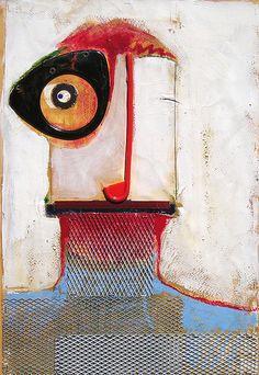 ~Jorge González #art #mixedmedia