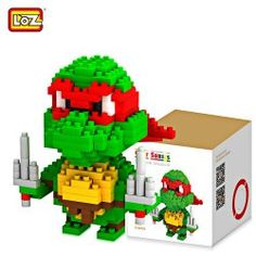 SHARE & Get it FREE   LOZ 210Pcs Teenage Mutant Ninja Turtles Raphael Building Block Creative ABS Material Kid Toy M - 9149For Fashion Lovers only:80,000+ Items • New Arrivals Daily • Affordable Casual to Chic for Every Occasion Join Sammydress: Get YOUR $50 NOW!