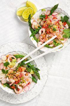 Baby Food Recipes, Salad Recipes, Dinner Recipes, Tummy Yummy, Vegetarian Recipes, Healthy Recipes, Danish Food, Fish Dinner, Summer Recipes