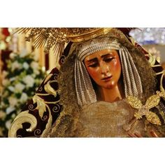 Virgo fidélis, Virgen fiel, ruega por nosotros. Fotografía ©Manuel Jesús Roríguez Rechi. #virgendelasangustias #virgendelosgitanos #sevilla