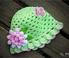 Beautiful hat for girl