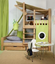 Bruno's Tree House Bed, Toddler Playing Bed
