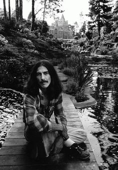 George Harrison by Terry O'Neill think he could have been my soul mate. hahaha just don't tell greg