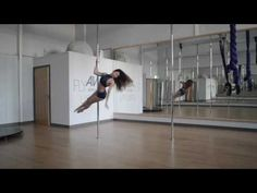 10 Fun Beginner/Intermediate Pole Spin Tricks - YouTube