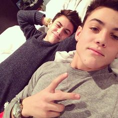 Ethan and Grayson