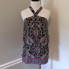 WHBM blouse never worn!! New without tags! WHBM sleeveless blouse. White House Black Market Tops Blouses