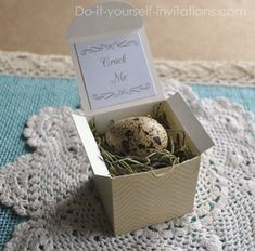 136 best diy baby shower invitations images on pinterest diy baby quail egg baby shower invitation filmwisefo